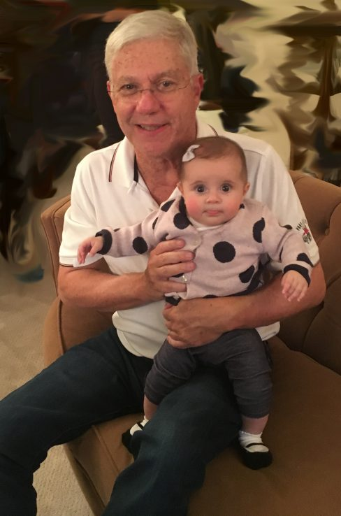 Profile of Allan Detsky with Granddaughter Blair
