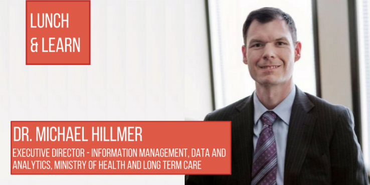 Poster image of Dr. Michael Hillmer for IHPME GSU Lunch and Learn