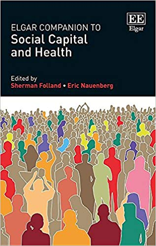 Book cover imagery for Elgar Companion to Social Capital and Health