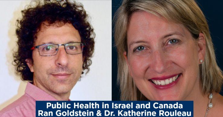 Profiles of Ran Goldstein and Katherine Rouleau